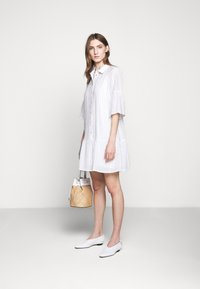 Bruuns Bazaar - VICKIE BALLY DRESS - Shirt dress - dream blue/white - 1