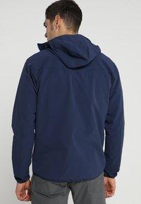 Haglöfs - NATRIX HOOD MEN - Soft shell jacket - tarn blue/storm blue - 2