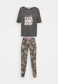 Marks & Spencer London - HAPPINESS - Pyjamas - charcoal - 5