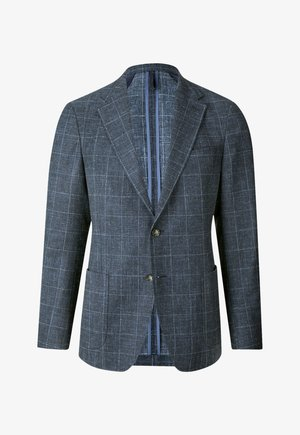 Suit jacket - dunkelblau kariert
