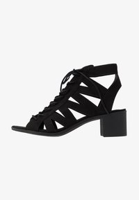 New Look - PELICAN - Sandalias tobilleras - black - 0