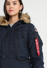 Alpha Industries - POLAR JACKET - Vinterkappa /-rock - blue - 4