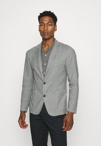 Abercrombie & Fitch - Blazer jacket - grey - 0