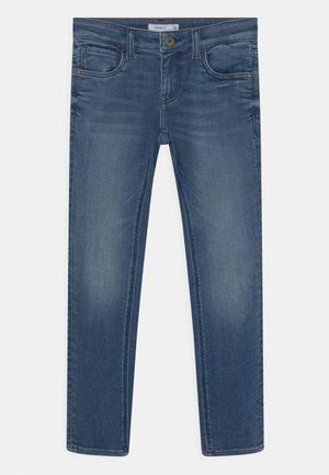 NKMROBIN - Jeans Skinny Fit - dark blue denim