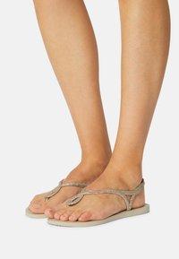Havaianas - LUNA PREMIUM - Pool shoes - sand grey - 1