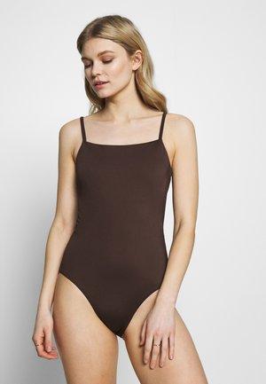 COAST SWIMSUIT - Costume da bagno - dark brown