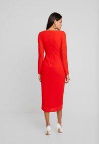 TFNC - GWENNO MIDI WRAP DRESS - Vestito elegante - bright red - 3