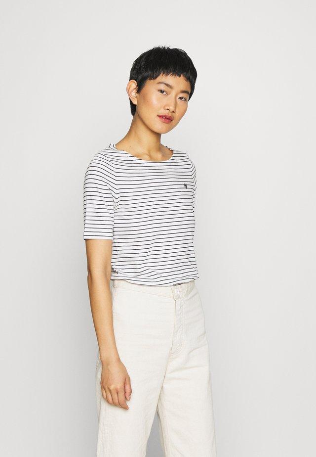 SHORT SLEEVE ROUND NECK - Print T-shirt - multi/black