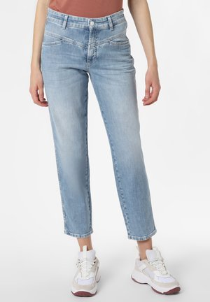 Straight leg jeans - bleached