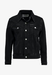 Calvin Klein Jeans - FOUNDATION TRUCKER - Denim jacket - washed black - 6