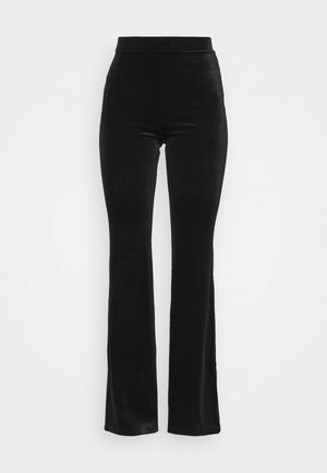 TORA TROUSERS - Bukse - black