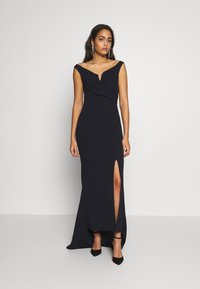 WAL G. - OFF THE SHOULDER MAXI DRESS - Suknia balowa - navy blue - 1