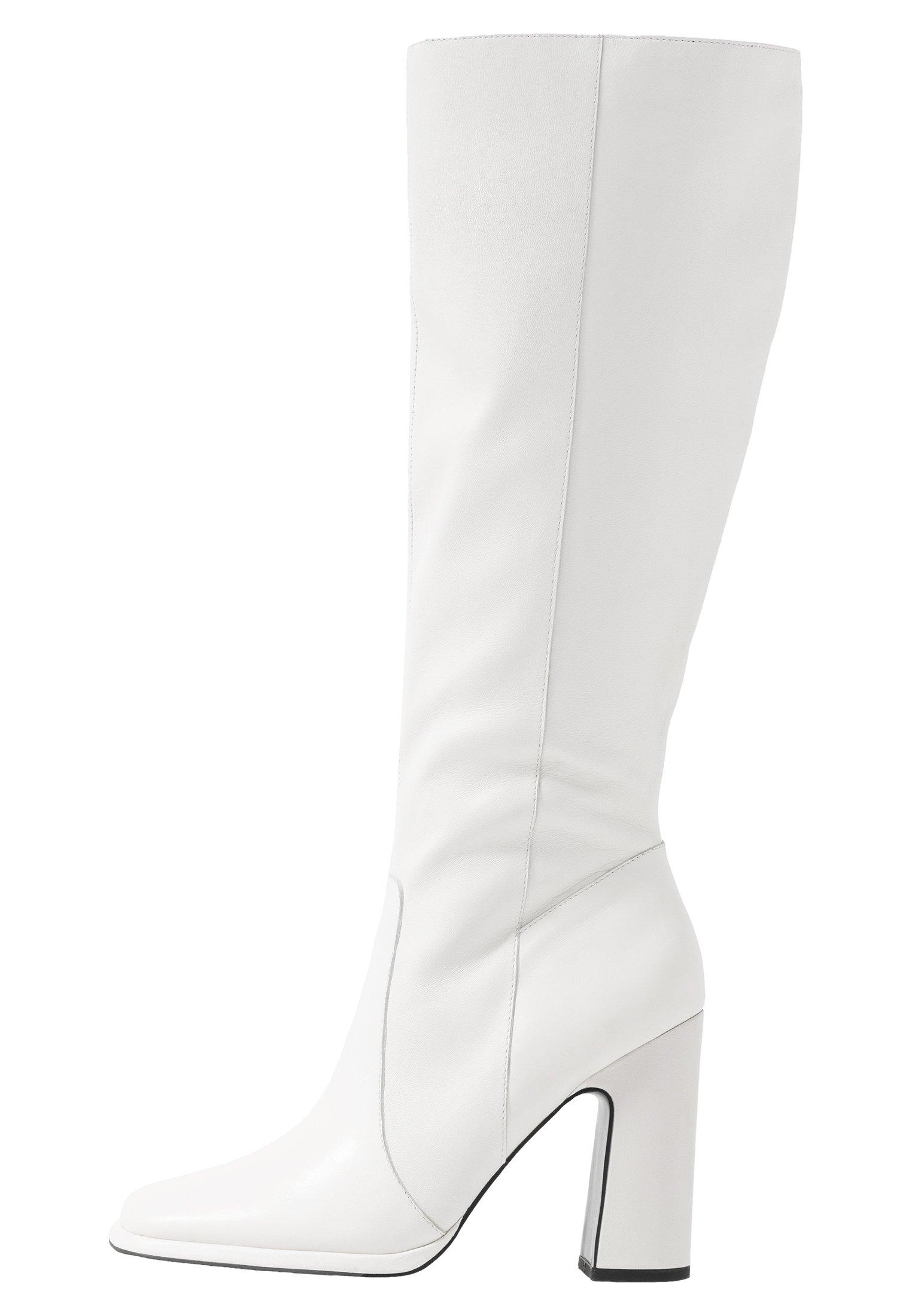 Klassiska stövlar white