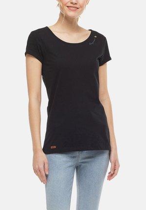 Basic T-shirt - schwarz