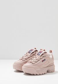Fila - DISRUPTOR KIDS - Sneakers basse - rose smoke - 3