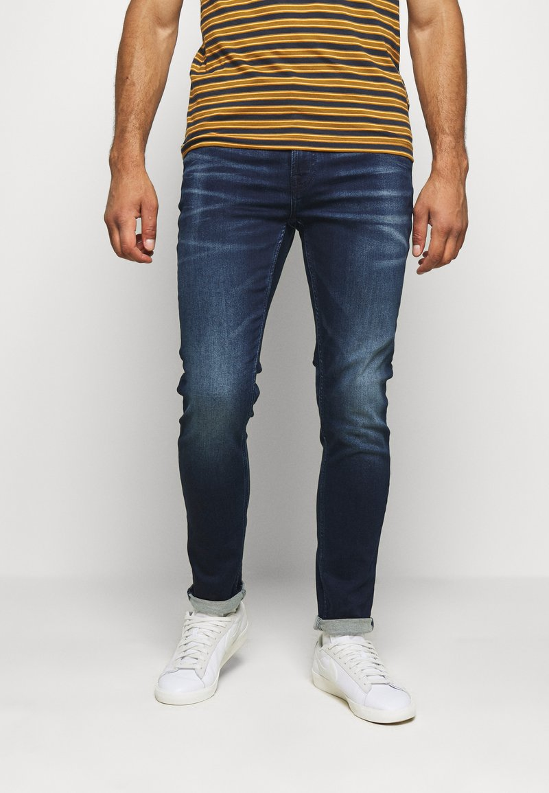 Only & Sons - ONSLOOM LIFE ZIP  - Slim fit jeans - blue denim