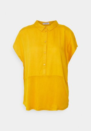 BLOUSE SHORTSLEEVE WITH MIX - Bluser - sunflower