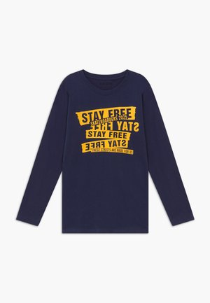 TEENS STAKEBOARD - Long sleeved top - dark blue