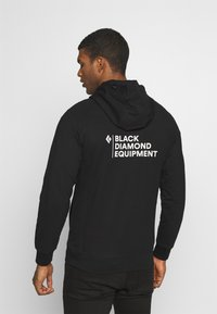 Black Diamond - FULLZIP HOODY STACKED - Sweatshirts - black - 2