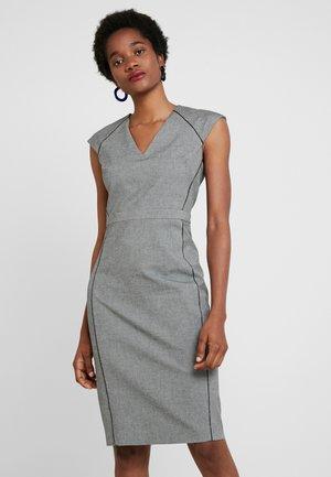 VNECK HEATH NOVELTY - Shift dress - grey novelty