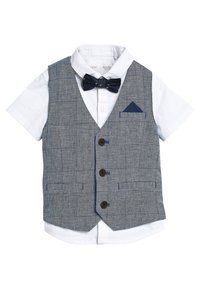 Next - SET  - Waistcoat - blue - 1