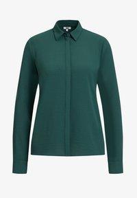 WE Fashion - Button-down blouse - green - 5