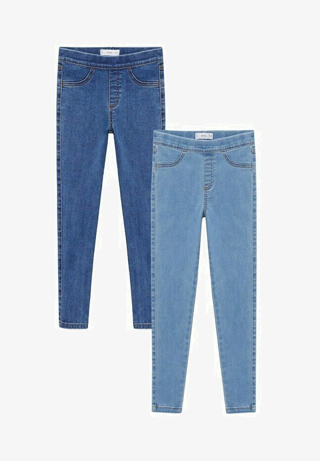 2 PACK - Jeggings - bleu clair