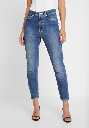 DEENA - Straight leg jeans - denim blue