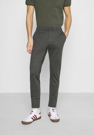 KOLDING - Spodnie materiałowe - charcoal mix