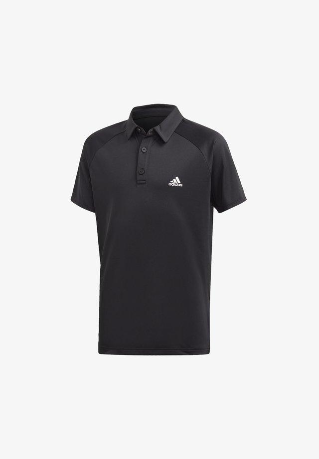 CLUB POLO SHIRT - Poloshirt - black
