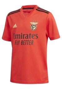 adidas Performance - BENFICA LISBOA HOME JERSEY - Fanartikel - red - 2