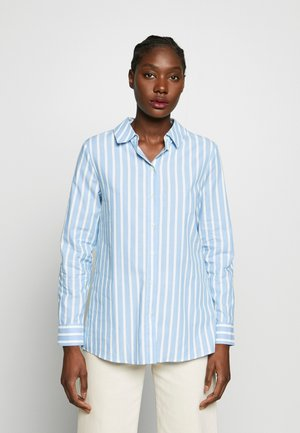 BLOUSE STRIPED - Pusero - spring blue