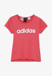 adidas Performance - TEE - Camiseta estampada - coral pink - 2