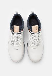 ECCO - M. S - THREE - Golf shoes - white - 3