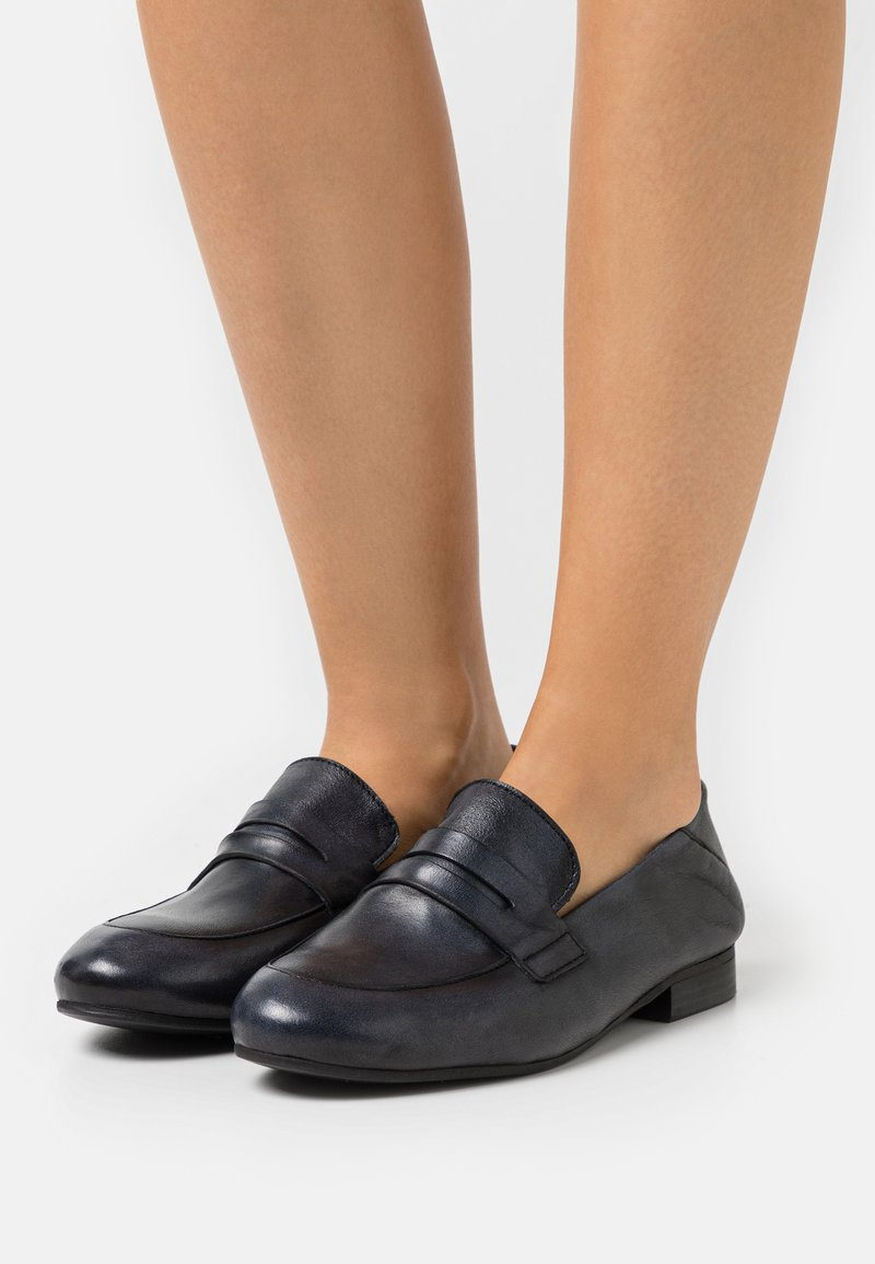 Felmini Wide Fit - MELISSA - Slip-ons - tamponada black