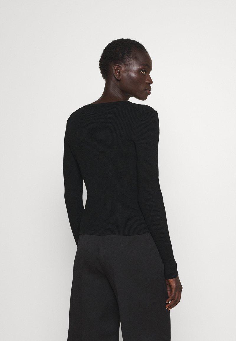 HUGO - SAFALA - Cardigan - black
