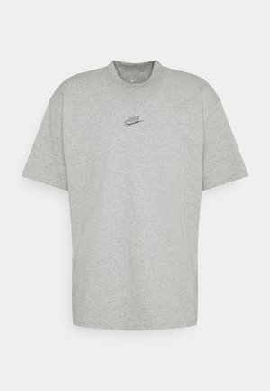 TEE PREMIUM ESSENTIAL - T-shirts - grey heather
