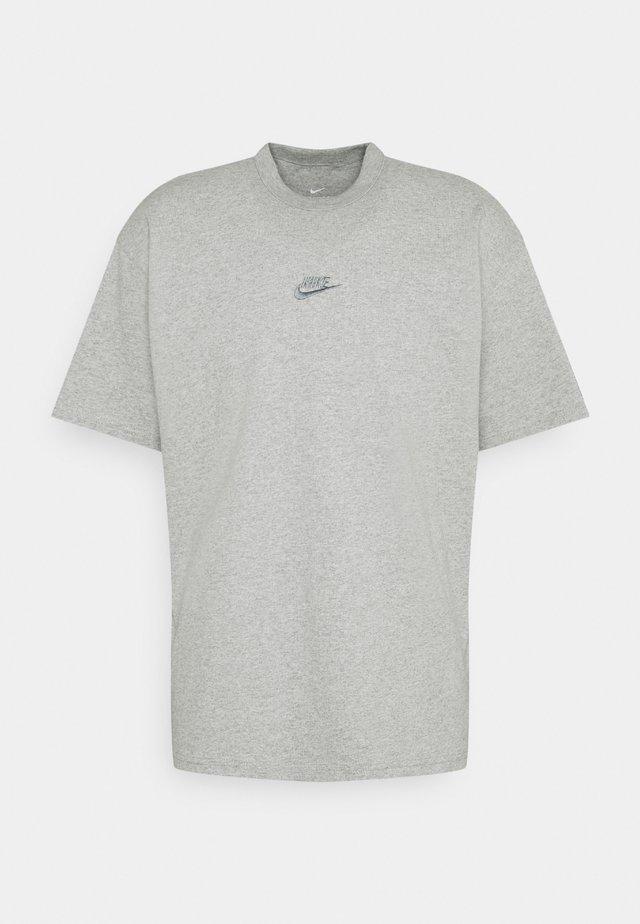 TEE PREMIUM ESSENTIAL - T-shirt basique - grey heather