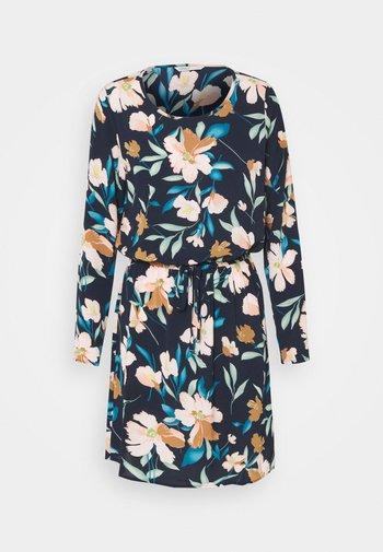 ONLNOVA LUX DRAW STRING DRESS - Denní šaty - night sky