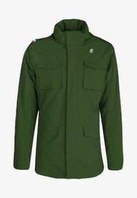 K-Way - MARMOTTA - Outdoor jacket - green dk forest-blue depht - 0
