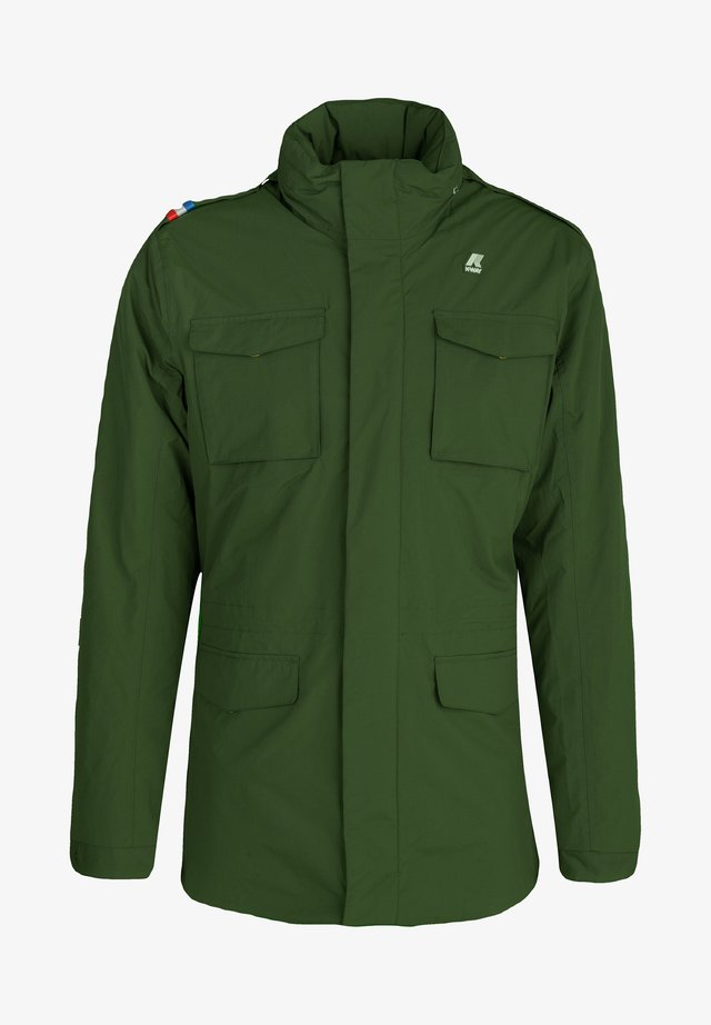 MARMOTTA - Outdoor jacket - green dk forest-blue depht