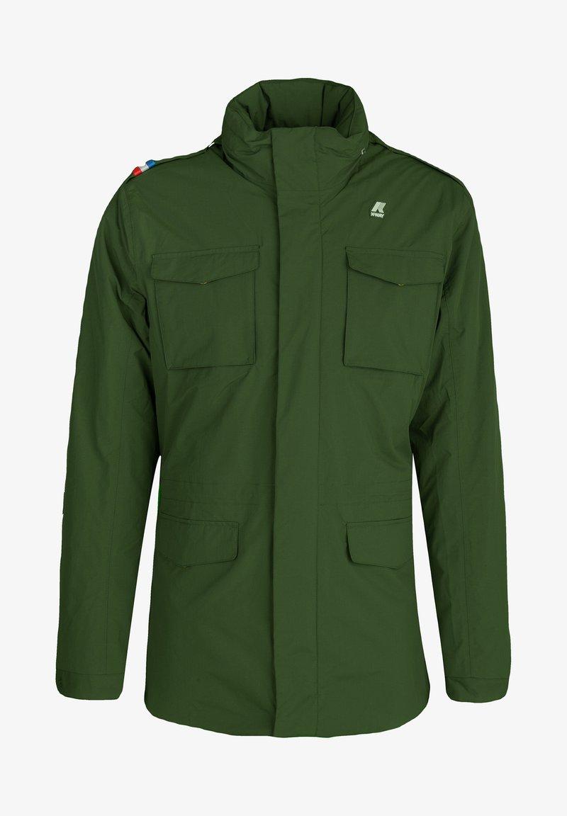K-Way - MARMOTTA - Outdoor jacket - green dk forest-blue depht