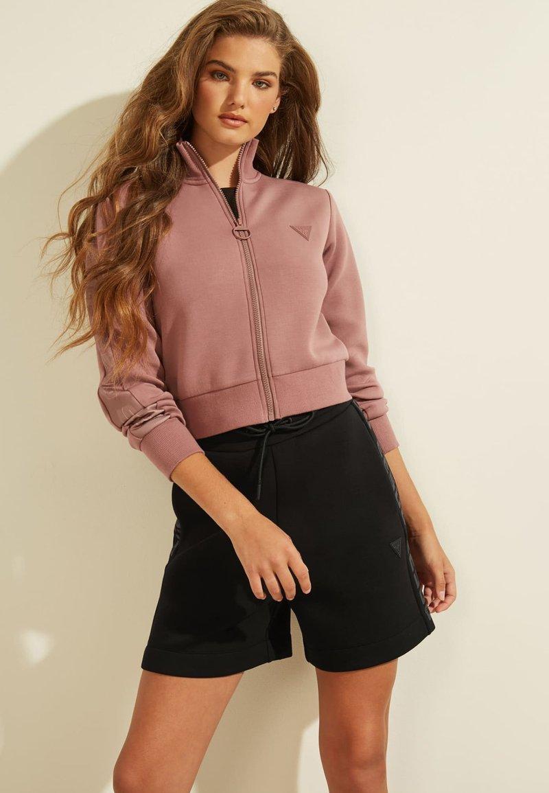 Guess - Zip-up hoodie - rose