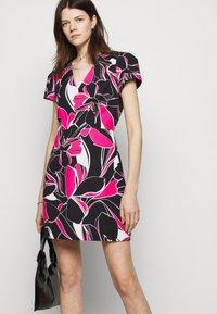 Milly - ATALIE DRESS - Day dress - black multi - 3