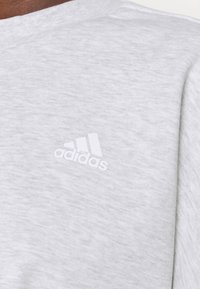 adidas Performance - CREW - Topper langermet - light grey heather - 5