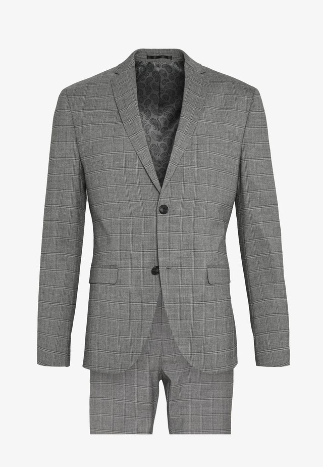 CHECK SUIT - Kostuum - grey