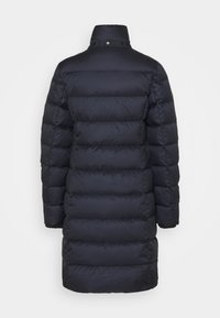 Marc O'Polo - COAT LONG FILLED HOOD FLAP POCKETS - Down coat - midnight blue - 3