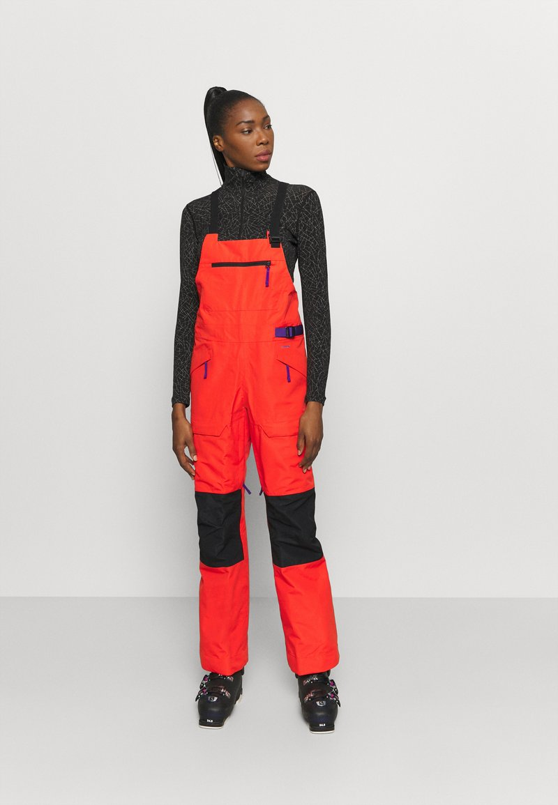 The North Face - TEAM KIT  - Schneehose - flare/tnf black