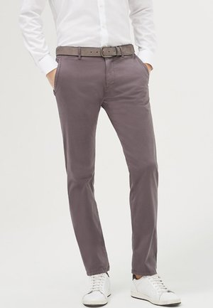 MATTHEW - Trousers - anthracite