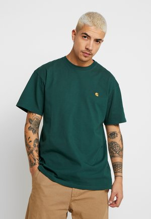 CHASE  - Basic T-shirt - treehouse/gold